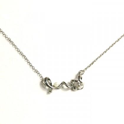 Náhrdelník LOVE - stříbrný