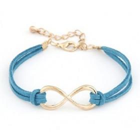 Náramek nekonečno - modrý