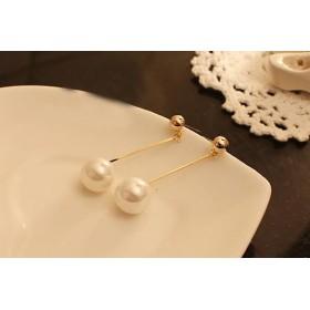 Náušnice perly na tyčinkách
