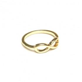 Prsten nekonečno - zlatý