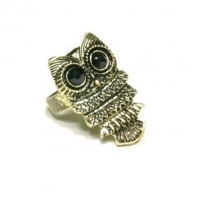 Prsten sova - bronzový odstín