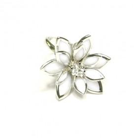Prsten lotos - stříbrný