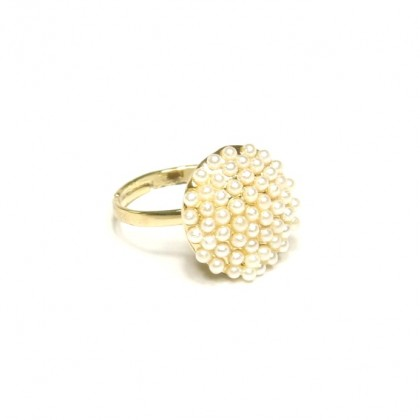 Prsten kruh perliček